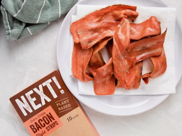 'Realistic' meat-free bacon launched in NZ