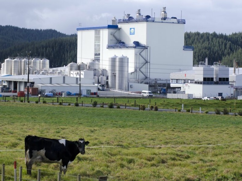 Dairy pushes export prices higher