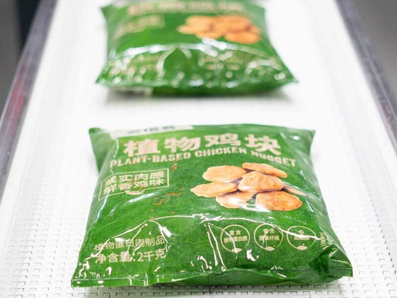 Nestlé debuts plant-based products in China
