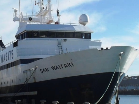 Sanford ordered to forfeit $20m vessel after illegal trawling