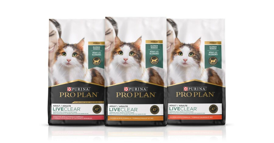 """Purina debuts """"world first"""" allergen-reducing cat food"""