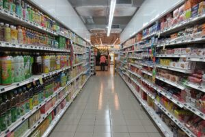 Wild weather drives supermarket spend to biggest June riser