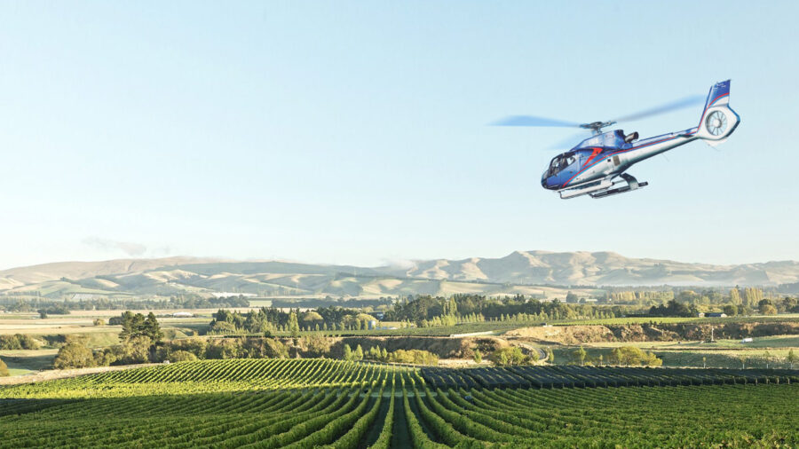 New heli wine experience launches