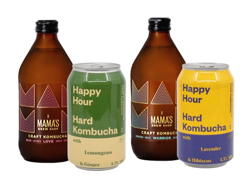 Mama's Brew Shop adds hard kombucha to retail range