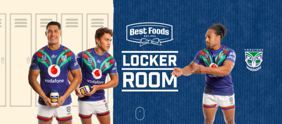 Best Foods launches Warriors fan site