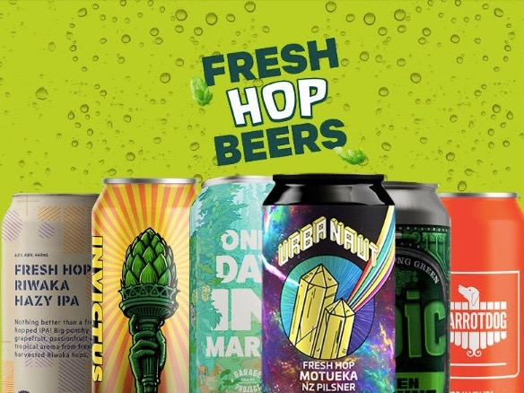 Brewers band together for 2021 fresh hop beers run