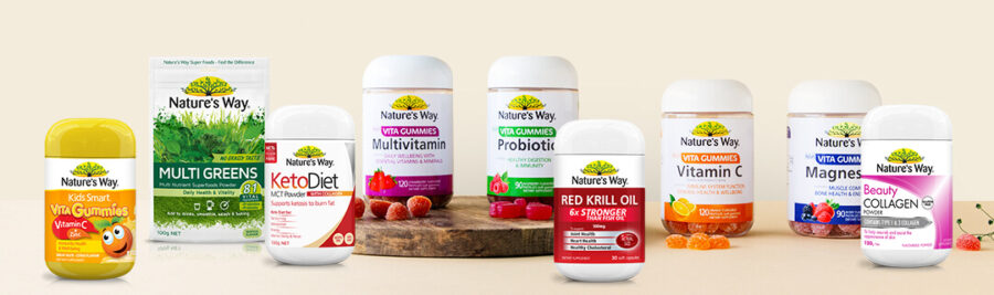 Nature's Way refreshes packaging, online design