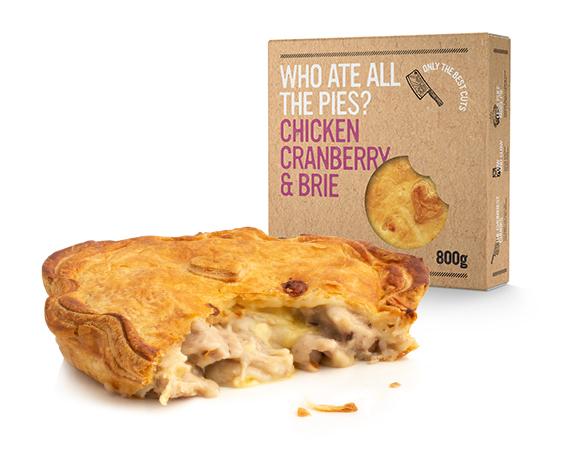 Pie maker launches website