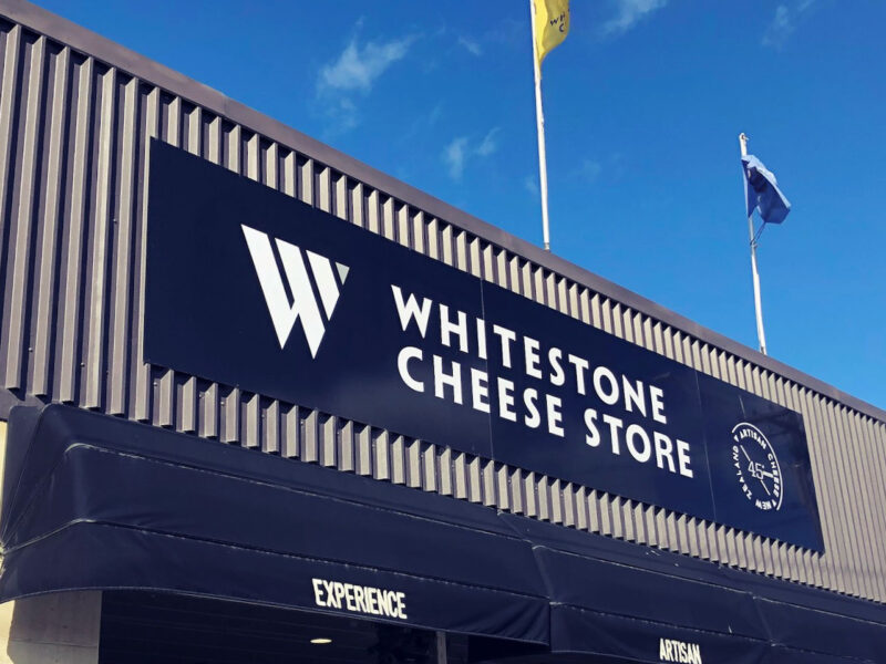 Whitestone offers free cheese for vaccinators to help rollout
