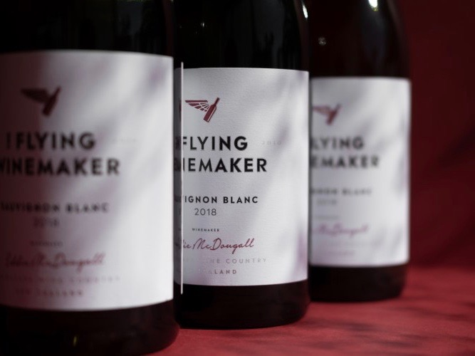 The Flying Winemaker lifts off in China
