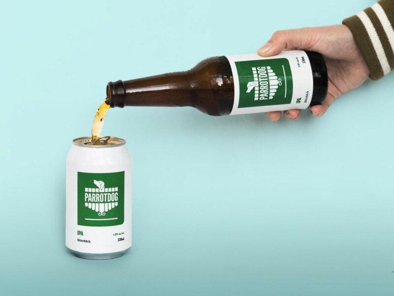 Parrotdog cans bottles, targets 46% production increase