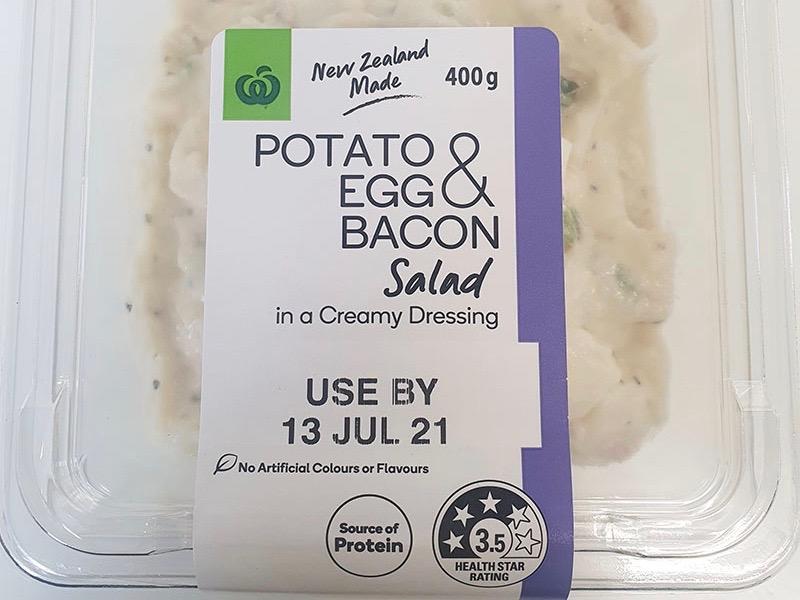 Countdown in prepack salad recall