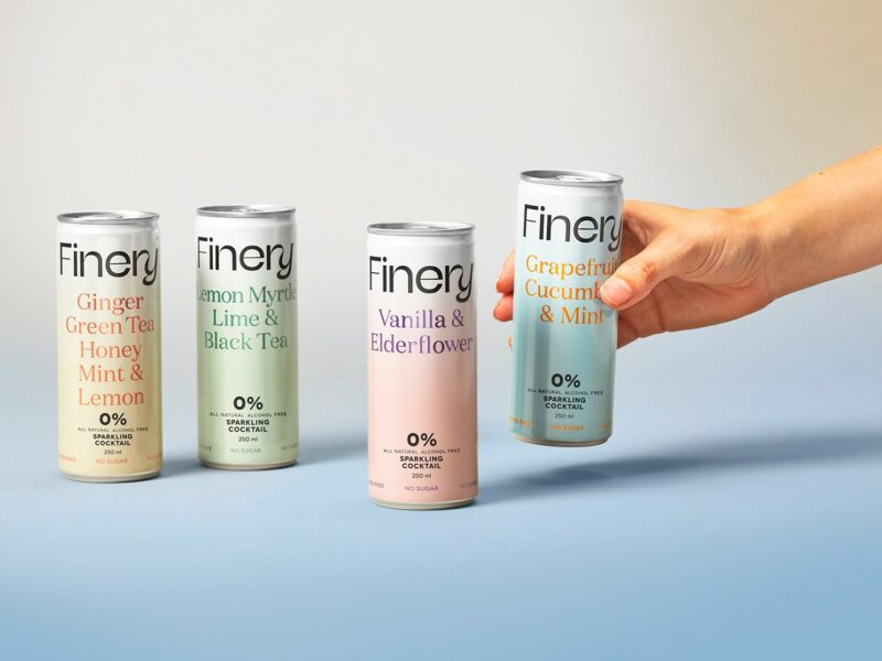 Finery jumps ditch with non-alcoholic cocktails