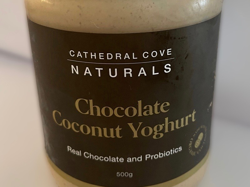 Cathedral Cove Naturals recalls chocolate coconut yoghurt