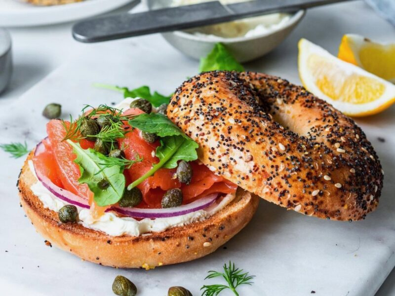Abe's Bagels on a roll, 25 years on
