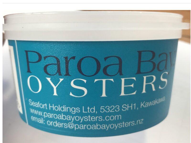 Paroa Bay Oysters alert