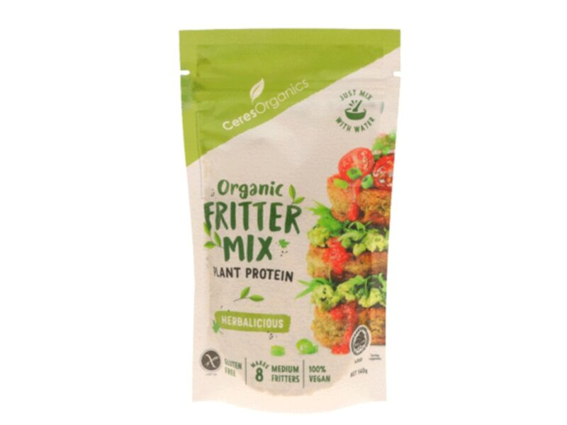 Ceres Organics fritter mix recall