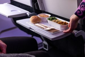 Air NZ switches out single-use in eco-serviceware trial