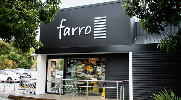 Farro among food retailers added to locations of interest
